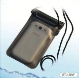 Мешок случая PVC дешевого мобильного телефона водоустойчивый с планкой для пляжа подныривания заплывания