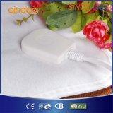 Cobertor Heated elétrico do poliéster do velo com proteção contra o calor excedente