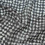 tissu Chiffon de la garniture 100d estampé par torsion élevée
