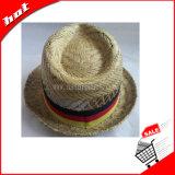 Chapéu de palha da cavidade do chapéu do Fedora, chapéu de palha do chapéu de Tribby do chapéu de palha da arremetida