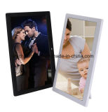 Novo design 16 polegadas Vertical LCD Screen Advertising Picture Frame (HB-DPF1601)