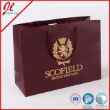 Ropa a granel Embalaje Paquete de compras Bolsa de papel Bolsa Cuerda manejada