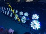 LED 램프 LED 18PCS*10W 알루미늄 상자 4in1 Full-Color 동위