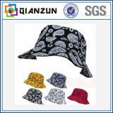 普及した熱い販売の印刷されたペーズリーのバケツの帽子