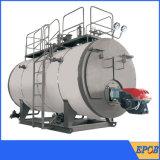 Instalar facilmente a caldeira industrial despedida do petróleo da combustão gás central
