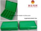 Rectángulo ordenado plástico de los PP del color verde