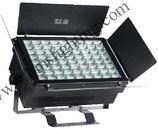 72*3W calientan la luz blanca de la cara del LED