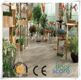 Material de construcción PVC impermeable piso de vinilo
