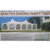 heraus Door Marquee Tent White PVC Cover Party Tent