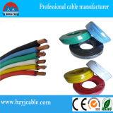 Cable eléctrico con aislamiento de PVC, Mult-núcleo de alambre, alambre plano (BVR)