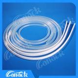 Productos médicos desechables Tubo de drenaje plano perforado de silicona