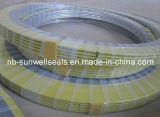 Inner와 Outer Rings (SUNWELL-SW600)를 가진 나선형 Wound Gaskets