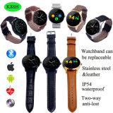 IP54は防水する心拍数のモニタ(K88H)が付いているスマートな腕時計を