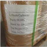 Карбонат лития ранга батареи 99.5% минут