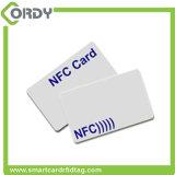 Tipo personalizado da impressão ISO1443A 13.56MHz de CMYK - 2 cartão do PVC de ntag213 NFC
