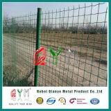 """Qym-48 """" H X 48 """" Wの黒いヨーロッパの鋼鉄塀のゲート"""