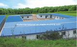 La costruzione prefabbricata d'acciaio chiara/Camere prefabbricate ha usato gli uffici o le case viventi private
