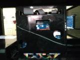 Écrans LCD simples remplissants du model deux de station-service de pompe