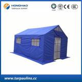 Tente extérieure bleue d'allégement stratifiée par PVC de biens