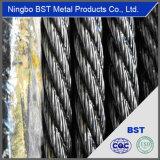 De Kabel van de Draad van het Staal van Ungalvanized van de kwaliteit met ISO9001-2008 (GB, BS, DIN, EN)