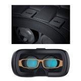 الواقع الافتراضي صندوق جوجل كرتون الواقع الافتراضي 3D القضية سماعة الواقع الافتراضي للهاتف الذكي