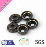 Cliente Design Brass Metal Press Snap Button para Clothing