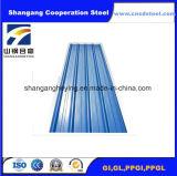 Galvanisiertes Zink-überzogenes Stahlmetallblatt für Roofing mit 665-920 Breite (Wechselstrom)