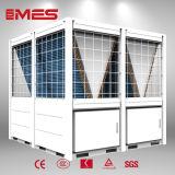 Calentador de agua de la bomba de calor de la fuente del aire 130kw para el agua caliente 70c