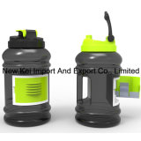 Оптовая бутылка воды 2.2/2.5L PETG пластичная с контейнером