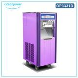 Crême glacée molle commerciale de restaurant faisant la machine (Oceanpower OP3328D)