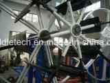 Mecanismo de botes giratorios plástico de la devanadera del tubo del diámetro grande de PVC/HDPE/PPR/