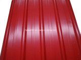 Hochfester voller harter gewölbter Dach-Stahl mit Farben-Beschichtung