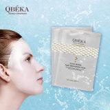 Weiß werden der Gesichtsschablonen-Peptid-Haut, welche die Qbeka Perle weiß wird Gesichtsschablone festzieht