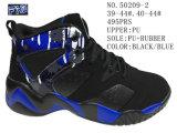 Nr 50209 Drie Schoenen van de Voorraad van de Sport van Kleuren Pu Outsole