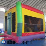 Cocowater創造的なデザイン子供おもちゃLG9052のための膨脹可能で多彩な警備員の城
