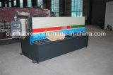 Machine de découpage de feuille d'acier inoxydable de QC12y 10X3200