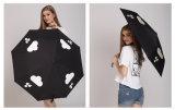Magic Automatic Folding Umbrella com logotipo de impressão intercambiável personalizado na chuva (FU-3821BFC)