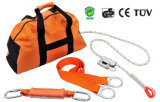Kit del cavo di sicurezza del PPE per gli operai della torretta del Roofer con Ce