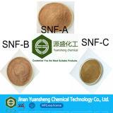 Het concrete Bijkomende Sulfonaat Superplasticizer van het Naftaleen van het Natrium van het Poeder