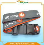 Courroie personnalisée de bagage de promotion de logo de modèle