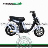Motociclo elettrico con gomma anteriore o gomma posteriore