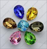 Кристаллический стеклянные бусины Pointback причудливый каменные для Jewellry