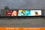 Reshine preiswertes P6 im Freien örtlich festgelegte gebogene LED, LED-Bildschirm für das im Freienbekanntmachen
