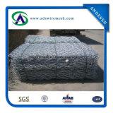 2X1X1m используемое в коробке PVC Coated Gabion предохранения от крена реки