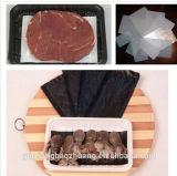 China fêz a água da economia de custo alimento absorvente contatar a bandeja fresca dos PP da embalagem da carne com almofada