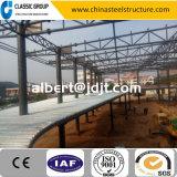 Entrepôt de deux étages élevé bon marché de structure métallique de Qualtity avec le modèle