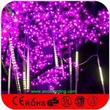 Luz al aire libre de la estrella el caer de la decoración del árbol