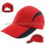 Weiche bequeme Breathable Polyester-Ineinander greifen-Baseball-Sport-Schutzkappe (TMR0674)
