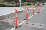 Borne de advertência reflexivo do Delineator da segurança de tráfego