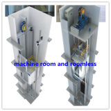 630kg、800kg、1000kg、1250kg Capacity Stainless Steel Panoramic Elevator